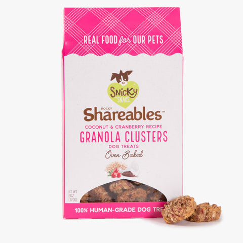 Etta Shareables Coconut and Cranberry Granola Clusters