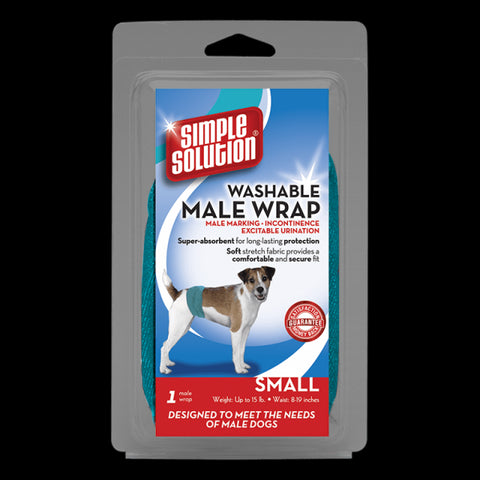 Simple Solution Washable Male Wrap -Small