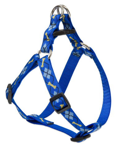 "Hollywood Feed - Lupine Step In Harness (Medium Dog) - Dapper Dog - 3/4"" - Step In Harness"