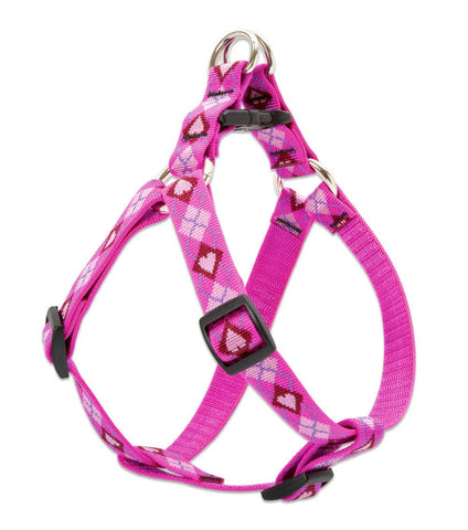 "Hollywood Feed - Lupine Step In Harness (Medium Dog) - Puppy Love - 3/4"" - Step In Harness"