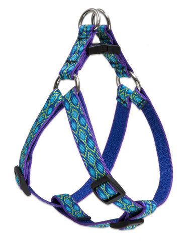 "Hollywood Feed - Lupine Step In Harness (Medium Dog) - Rain Song - 3/4"" - Step In Harness"