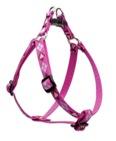 "Hollywood Feed - Lupine Step In Harness (Small Dog) - Puppy Love - 1/2"" - Step In Harness"