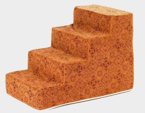 Hollywood Feed - *Bowsers Designer Pet Step - Pecan Filigree - Steps - 1