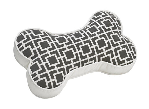 Hollywood Feed - *Bowsers Bone Sofa Pillow - Courtyard Grey - Throw Pillows