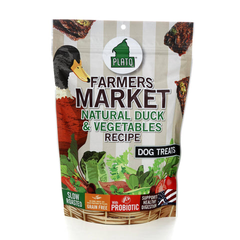 Plato Farmer's Market - Duck & Vegetable - 14.11oz