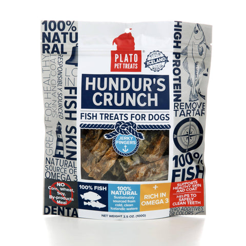 Hollywood Feed - Plato Hundur's Crunch - 3.5oz - Treats - 1