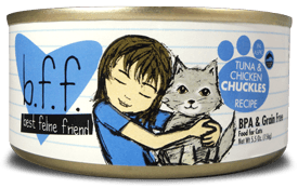 Weruva Cat Food - BFF Tuna & Chicken Chuckles Recipe (In Aspic)