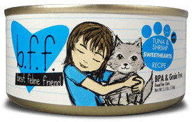 Weruva Cat Food - BFF Tuna & Shrimp Sweethearts Recipe (In Gravy)