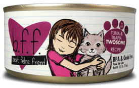Weruva Cat Food - BFF Tuna & Tilapia Twosome Recipe (In Aspic)