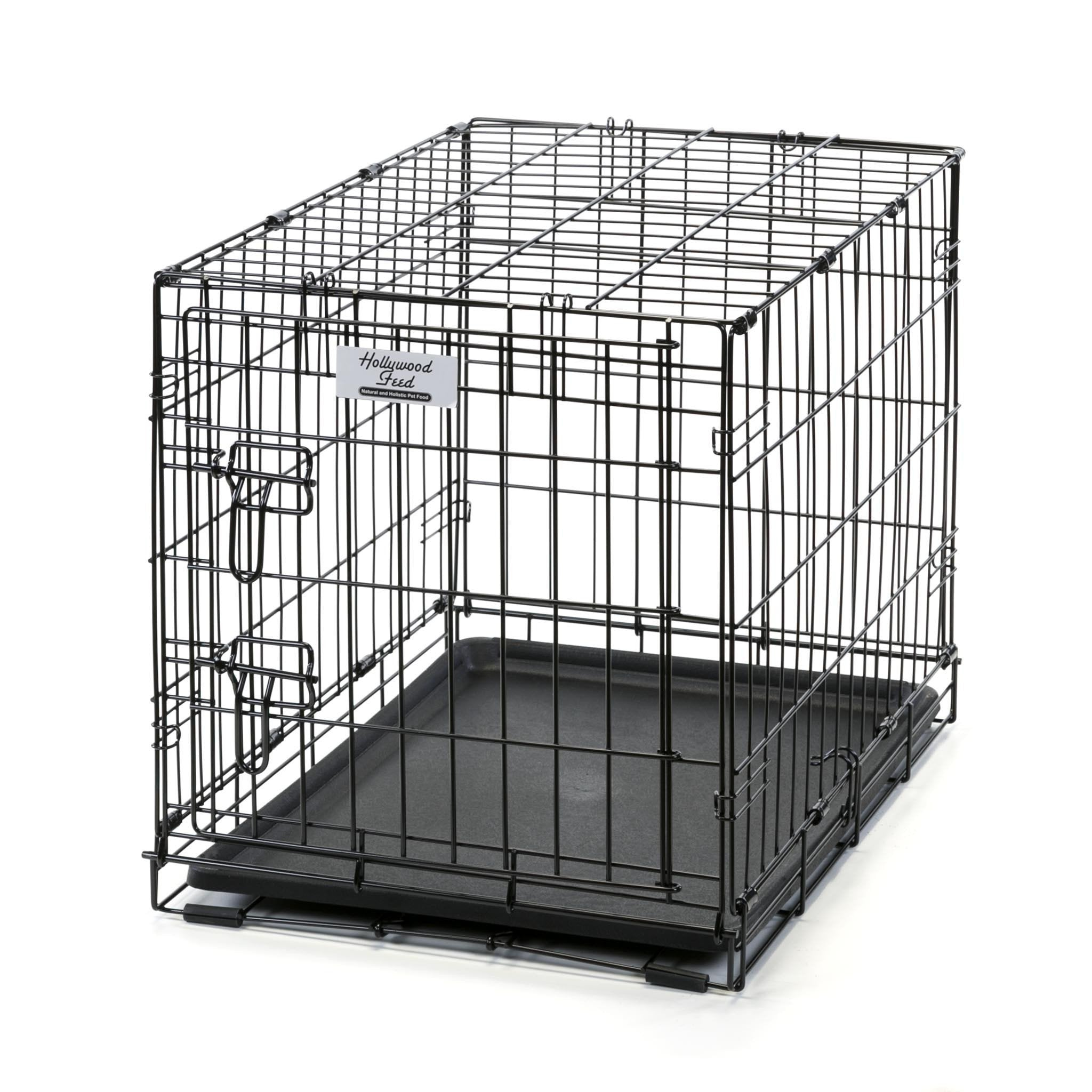 hollywood feed wire crate  small () -