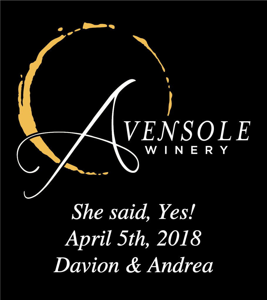 Avensole Winery She said Yes