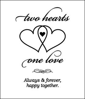 Two Hearts One Love
