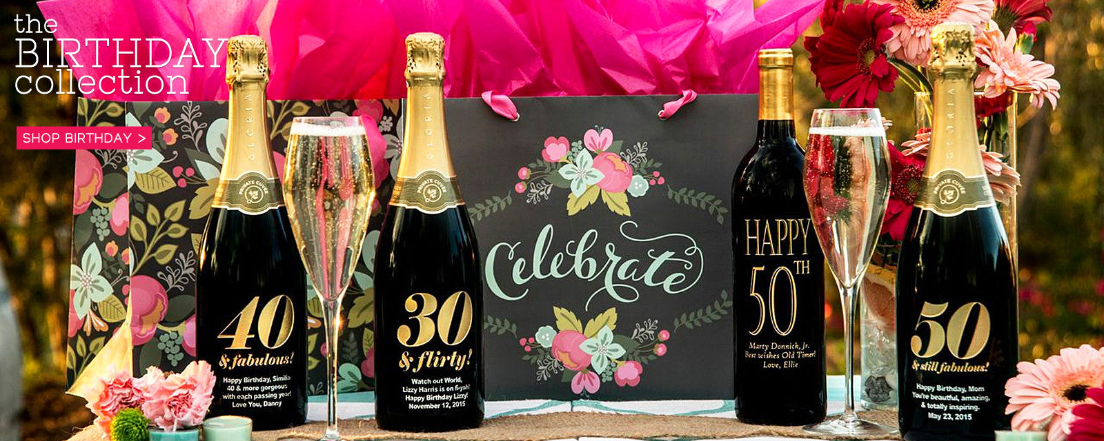 Shop Birthday Etched Wines
