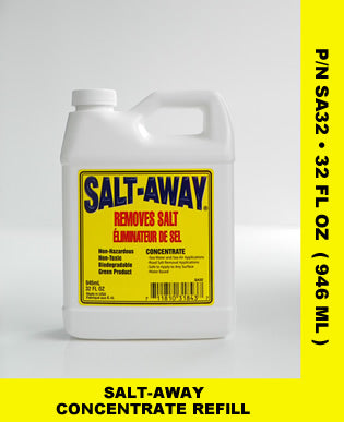 Salt-Away Salt Remover Spray 32oz Refill Concentrate