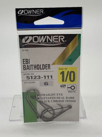 Owner Bait Holder EBI Size 1/0