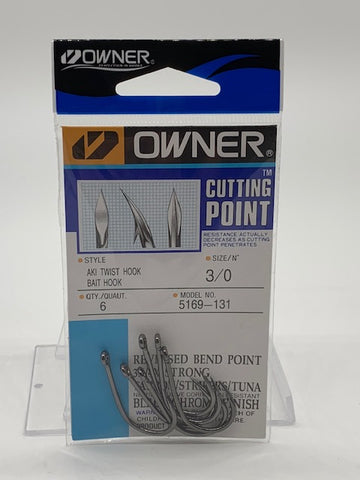 Owner Cutting Point Aki Twist Hook