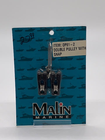 Malin Marine Single Downrigger Double Pulley