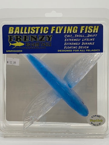 Ballistic Flying Fish Un-rigged 8""