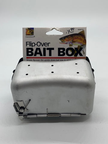 Danielson Flip-Over Bait Box