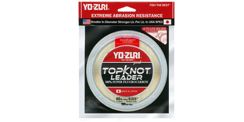 Yo-Zuri Top Knot Leader 80lb