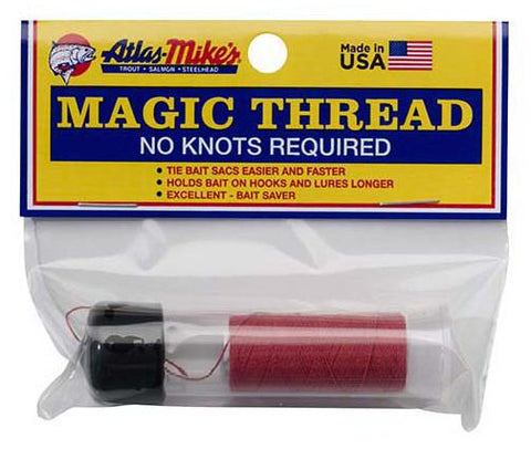 Magic thread dispenser red