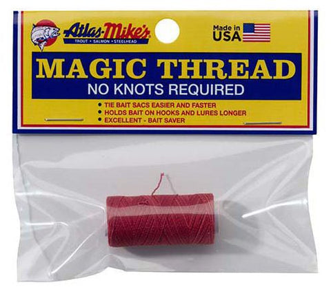 magic thread single red