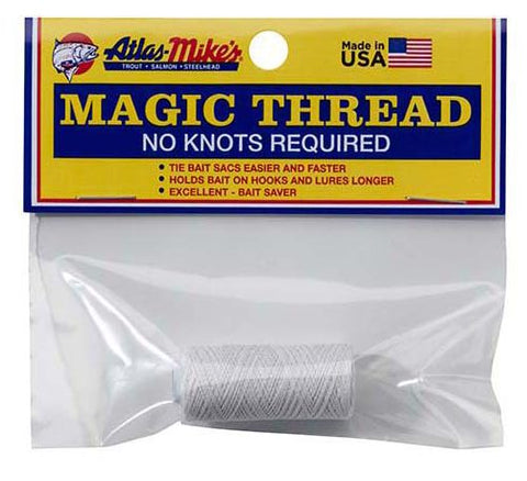 magic thread single white