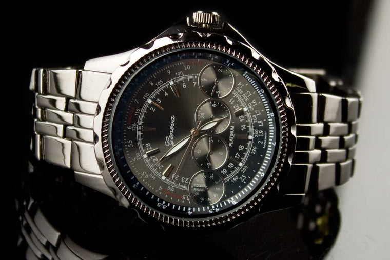 "Mens Luxury Metal Band Watch ""Oliver"""