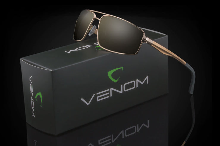 "Venom ""BARTON"" -Polarized - Johnny Shades"