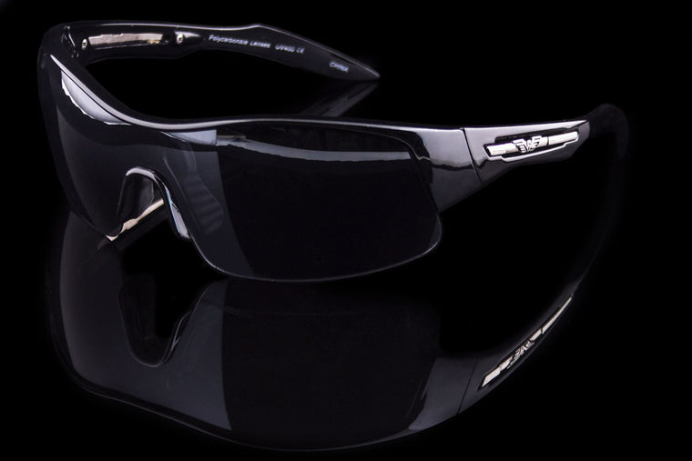 "Mens Wraparound Sport Sunglasses ""Silencer"""