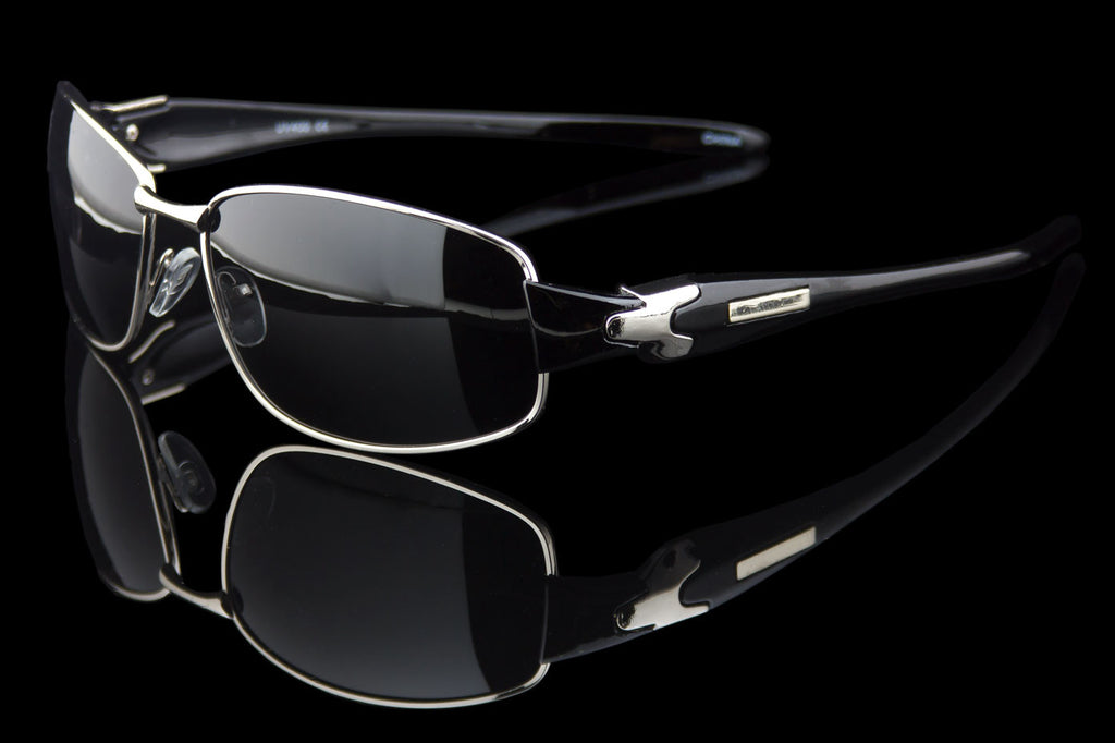"Polarized Rectangle Luxury Sunglasses ""Polar"""