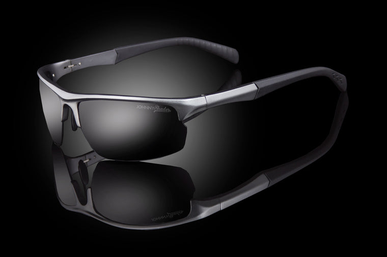 "TAC Polarized Techtanium Wraparound Sunglasses ""Spartan"""