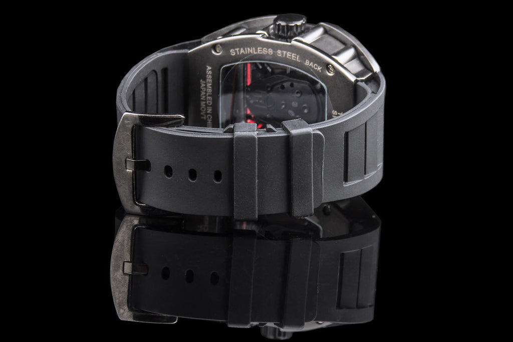 "Transparent Face Tech Max Watch ""Code"""