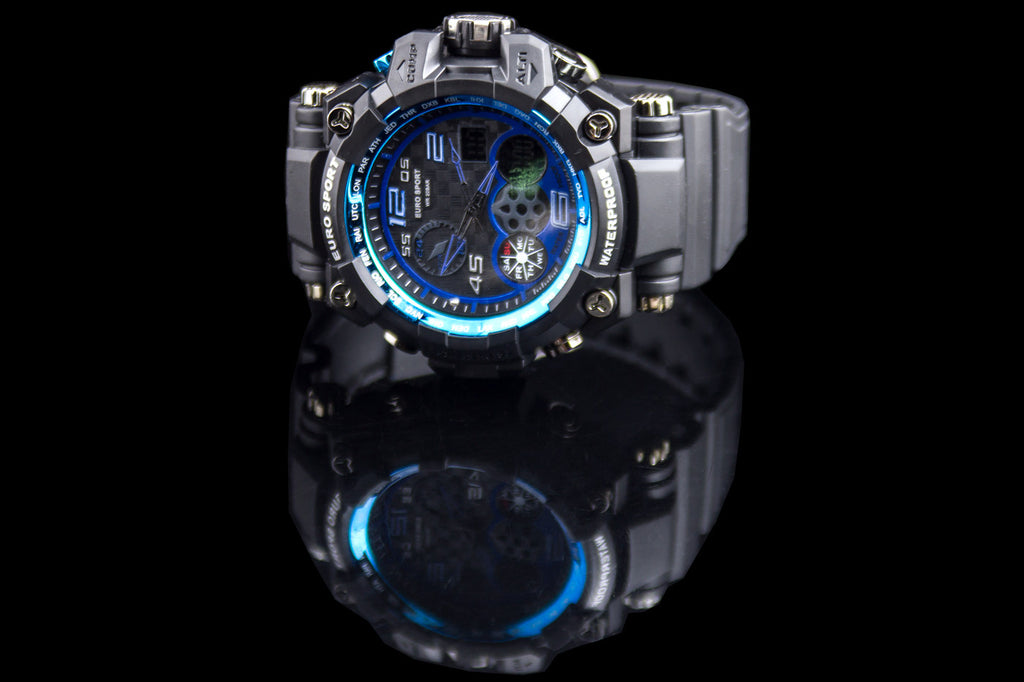"Men's Turbo Sport Multi Functions Watch ""Zero"""