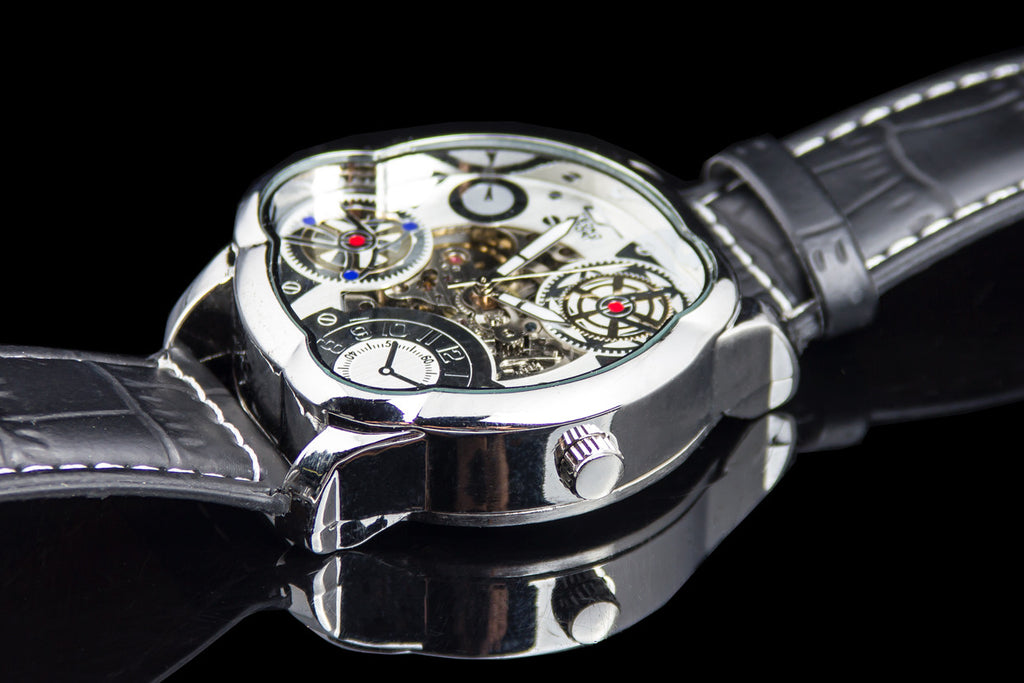 "Mens Premium Multi Dial  Self winding Skeleton Watch ""Corsica"""