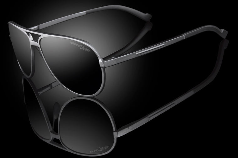 "Classic Techtanium TAC Polarized Aviator Sunglasses ""RPM"""