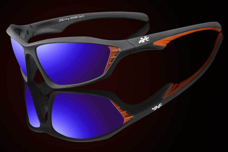 "Mens Exotic Bold Frame Sunglasses ""Kraven"""