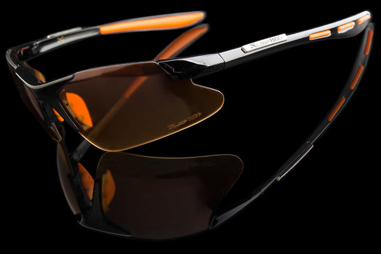 "Mens HD Driving Wraparound Sunglasses ""Podium"""