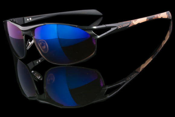 "Mens Camouflage Active Sports Sunglasses ""Atlas"""