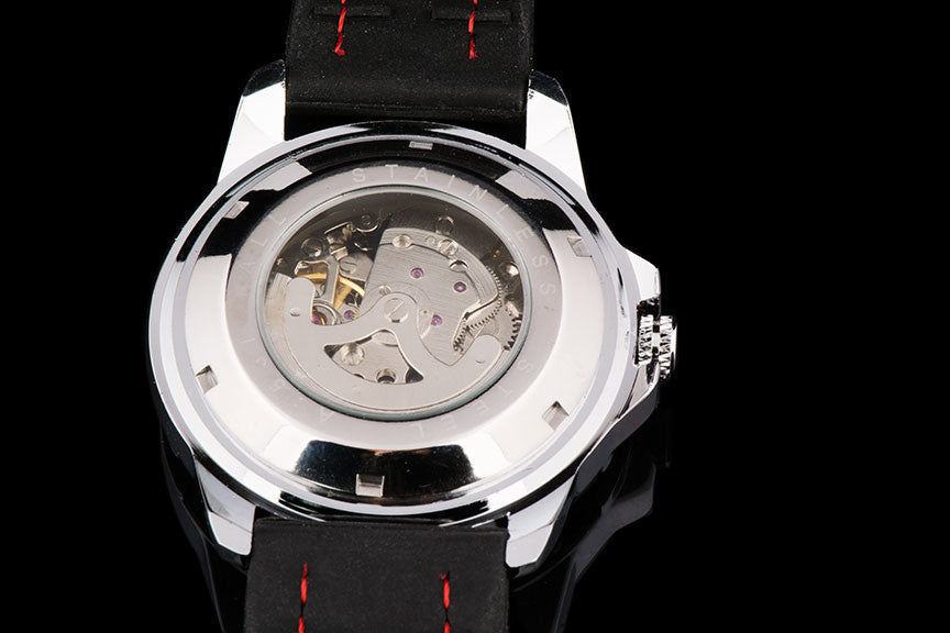 "Mens Automatic Self Winding Tourbillon Skeleton Exotic Sport Watch ""Zurich"""