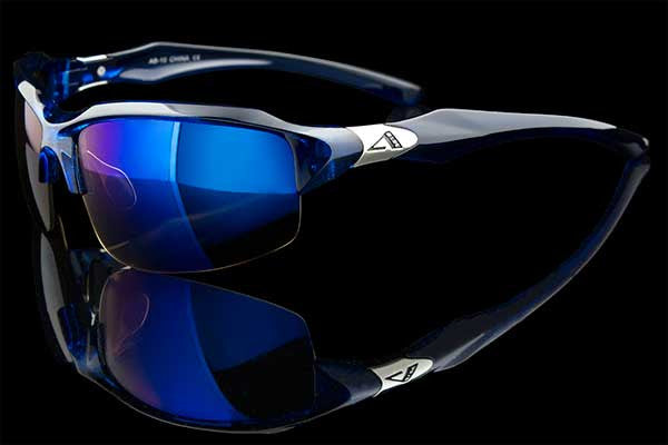 "BlueTech HD Wraparound Sport Sunglasses ""Reef"" - Johnny Shades"