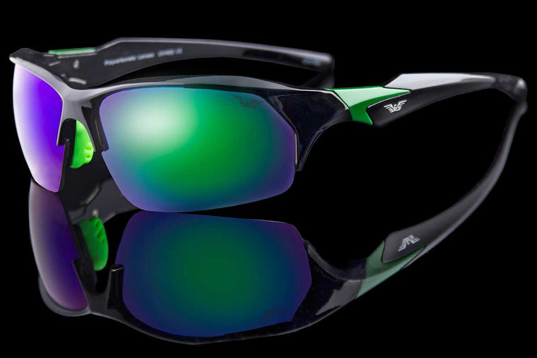 "Men's Hardcore Sport Wraparound Sunglasses ""Mateo"""