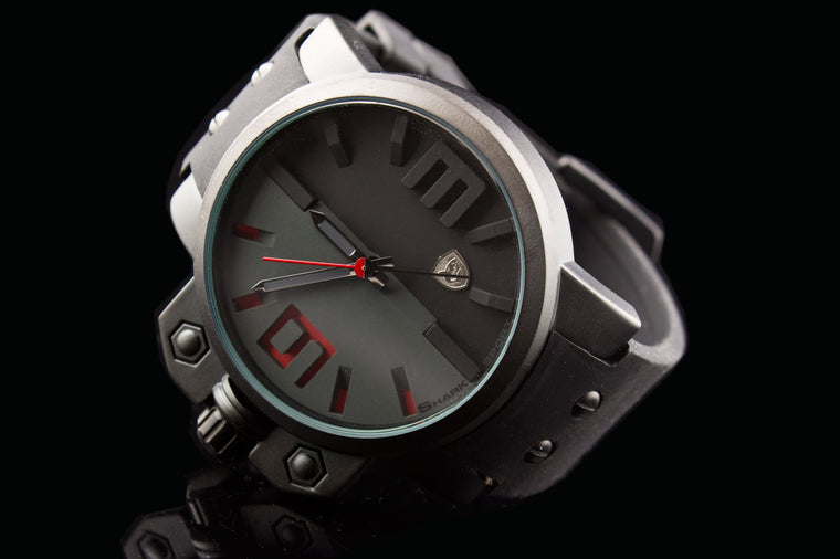 "Shark Exotic Car Inspired Racing Sport Watch ""Dyno"""