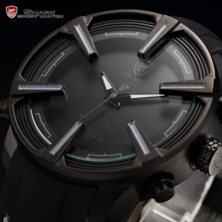 "Mag Wheel Exotic Car Racing Watch Hidden LED + Alarm ""Modena"""