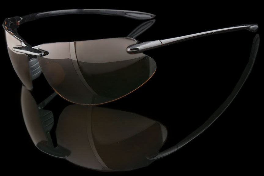 "Mens Rimless Sports TAC Polarized Sunglasses ""Intrepid"""
