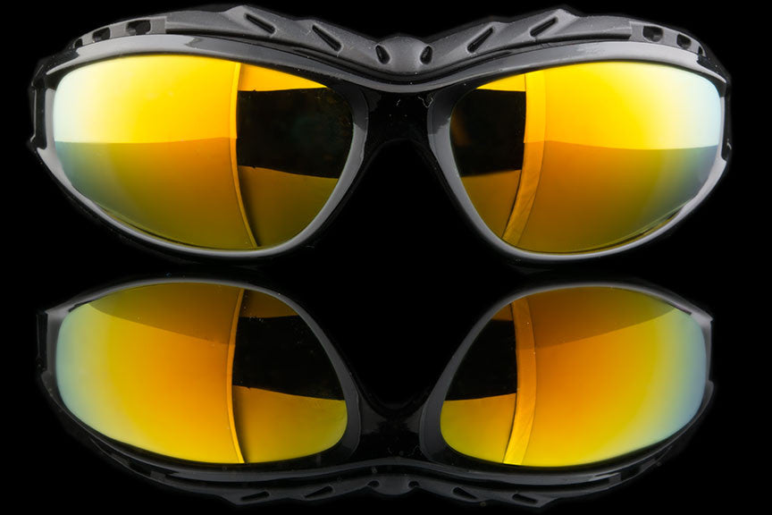 "Padded Cycling Sport Sunglasses Goggles ""Throttle"""