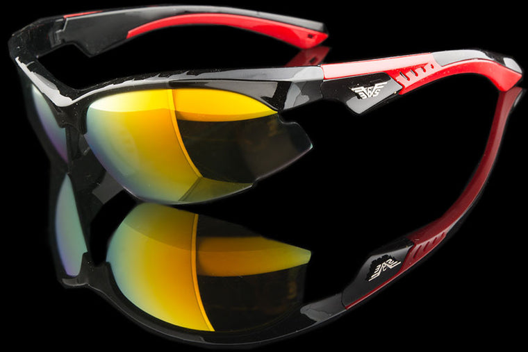 "Mens Wraparound Sport/Driving Sunglasses ""Snoke"""