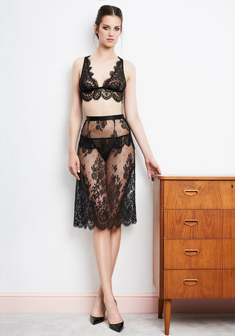 I.D. Sarrieri designer european Chantilly lace lingerie