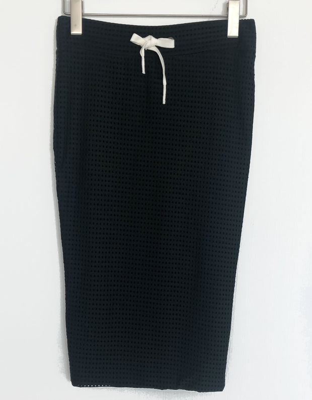 Umalas Skirt in Ebony Mesh
