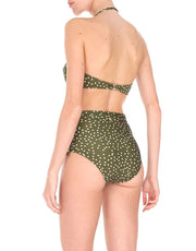 Adriana Degreas MILLE PUNTI HOT PANTS BIKINI IN GREEN